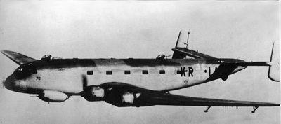 Bild eines JU 290 Flugzeuges
