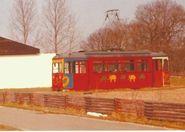 Die Straßenbahn im Kindergarten Oeversee von 1973 - 1981