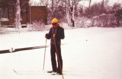 Bild von der Schneekatastrophe 1978/79 im Stapelholmer Weg 48